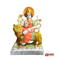 Maa Durga Devi Idol \ Handicraft Statue\  Sherawali MATA Rani \Spiritual Puja Vastu Showpiece