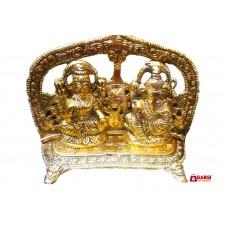 Metal Brass statue/carving idol/Figurines of Lakshmi Ganesh