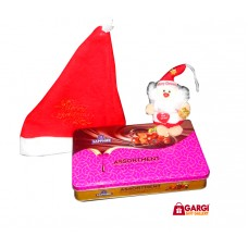 Combo 2 - Santa Cap | Small Santa and Sapphire Chocolate nuts