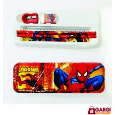 Cartoon Character Pencil Cases Stationary \ Spider Man \ School Stationary \ Toys for Kids
