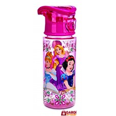 Disney Princess 500 ml  Sipper Water Bottle \ School Stationary \ Toys for Kids \ Pink