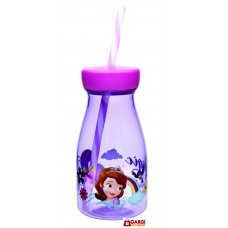 Disney Sofia Licensed Jar with Straw, 500ml \ School Stationary \ Toys for Kids