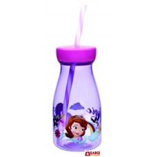Disney Sofia Licensed Jar with Straw, 500ml \ School Stationary \ Toys for Kids