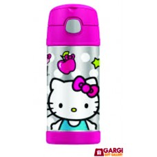 Hello Kitty Notebook Shape Water Bottle \ School Stationary \ Toys for Kids \ 380 ml