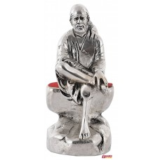 Antique Sai baba Idol for Home Office | Pooja | Home Decor Silver