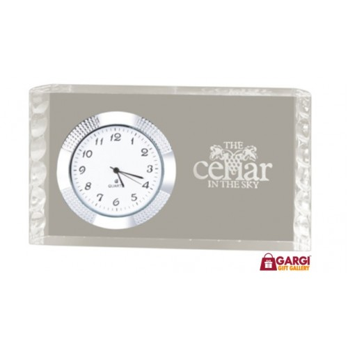 Personalized Desktop Clocks for home and Office with logo