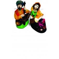 Rajasthani Couple Statue showpiece